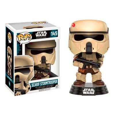 Figura Scarif Stormtrooper Rogue One Star Wars POP Vinyl Bobble Head
