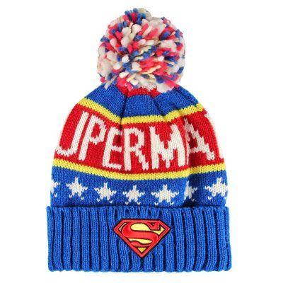 Gorro Superman DC Jacquard Premium