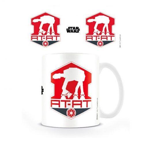 Taza Star Wars Episodio VII AT-AT Logo