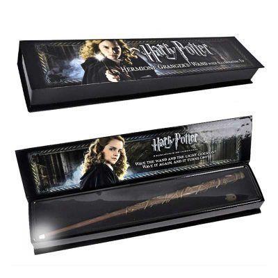 Varita Illuminating Hermione Granger