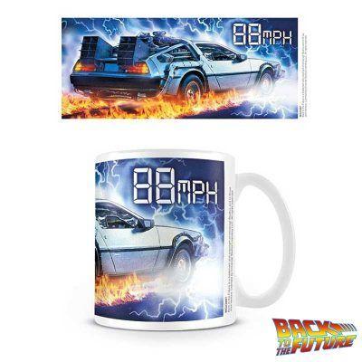Taza DeLorean 88 MPH Regreso al Futuro