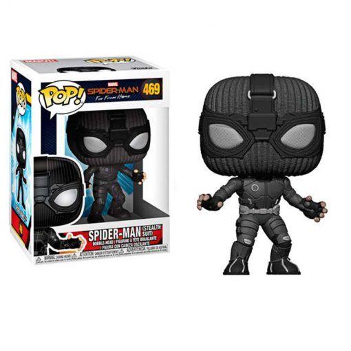 Figura Spiderman Stealth Suit Far From Home Marvel POP Vinyl