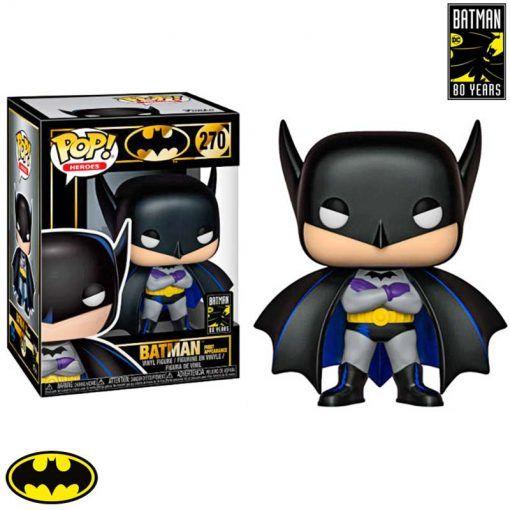 Figura Batman 80th 1st Appearance 1939 DC Comics Pop vinyl