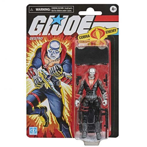 Figura Destro G.I. Joe Retro Series Hasbro 01