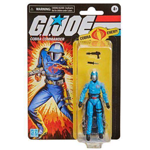 Figura Cobra Commander G.I. Joe Retro Series Hasbro 01