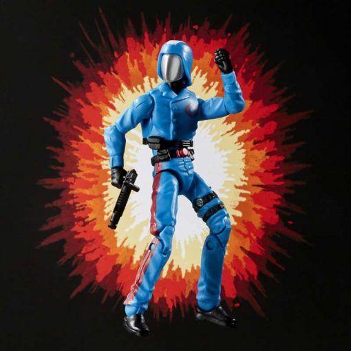 Figura Cobra Commander G.I. Joe Retro Series Hasbro 04