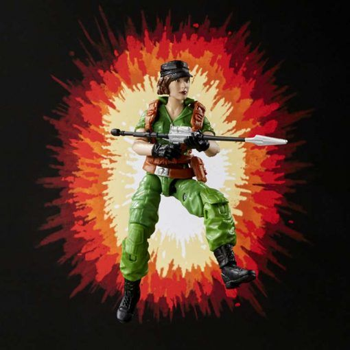 Figura Lady Jaye G.I. Joe Retro Series Hasbro 04