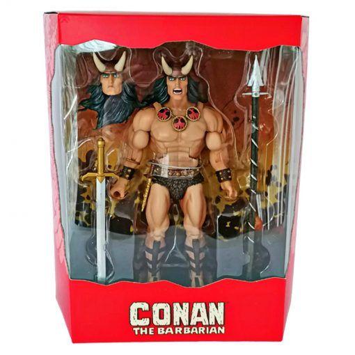 Figura Conan The Barbarian Deluxe Conan Comic book Super7 01