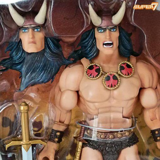 Figura Conan The Barbarian Deluxe Conan Comic book Super7 02