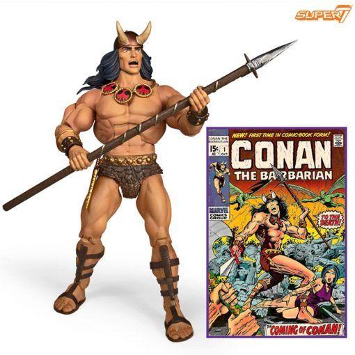 Figura Conan The Barbarian Deluxe Conan Comic book Super7 03