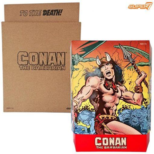 Figura Conan The Barbarian Deluxe Conan Comic book Super7 04