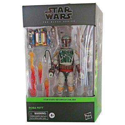 Figura Boba Fett Episode VI Star Wars Black Series Hasbro 01