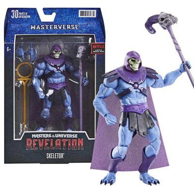 Figura Skeletor Masters Of The Universe Revelation Masterverse Mattel